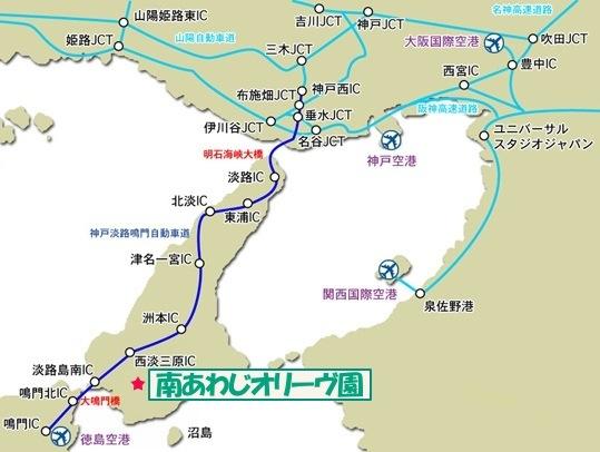 淡路島マップ